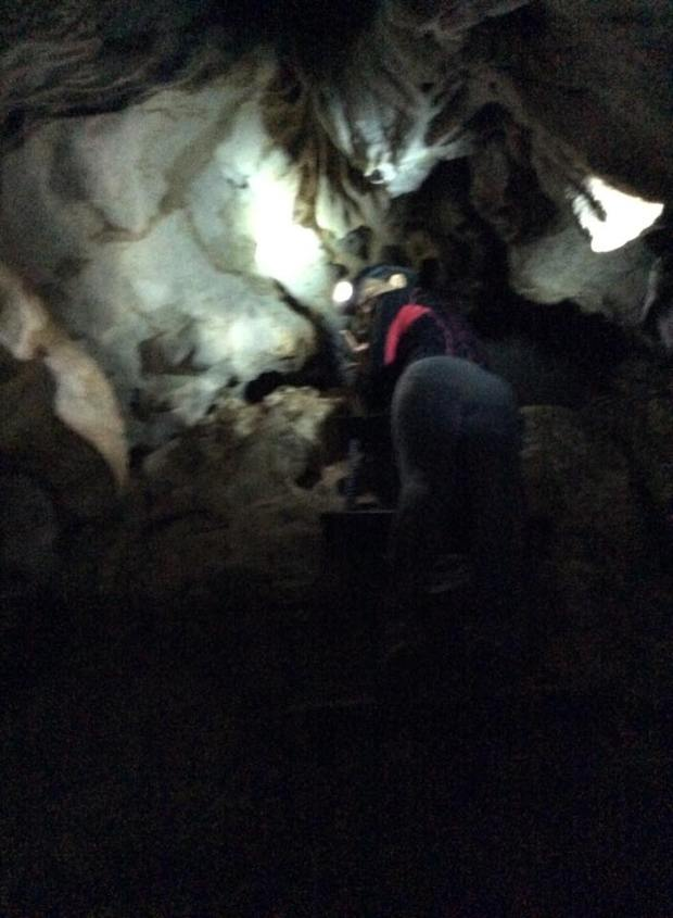 Inside Bayukbok Cave