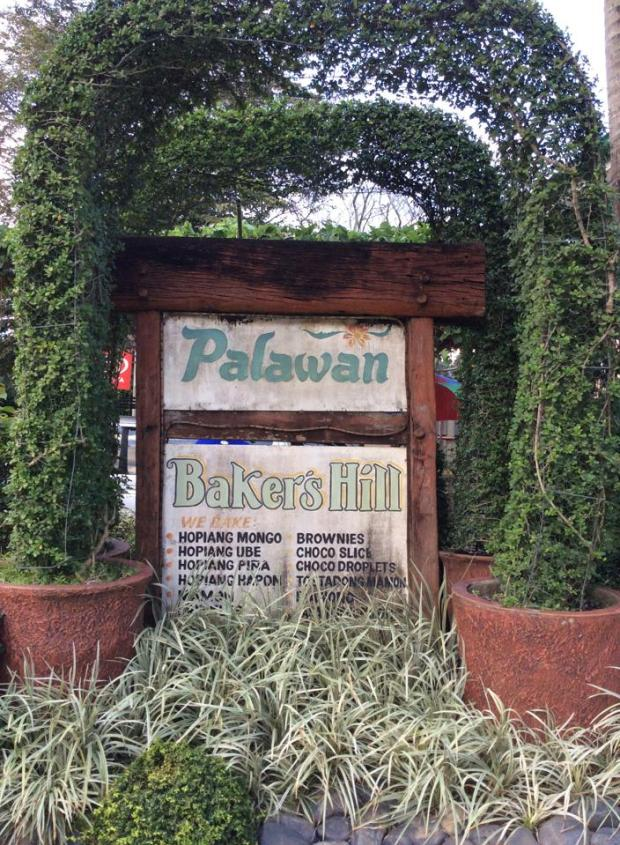 bakers hill sign'