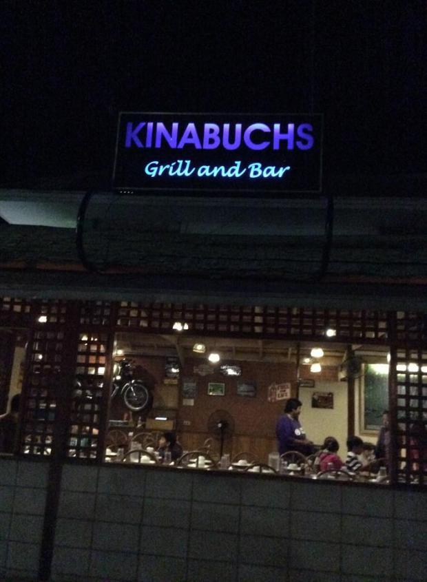 kinabuch signage