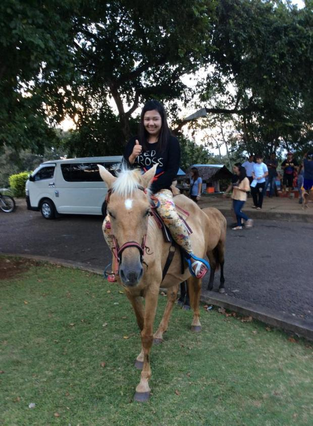 mitras ranch with horse