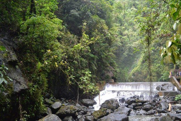 A Man-made Dam to prevent flashflood during the rainy season