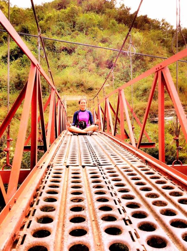 Bomok-Od Falls Bridge in Sagada Mountain Province