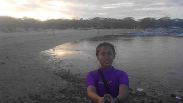 Burot Beach, Me and my Stick