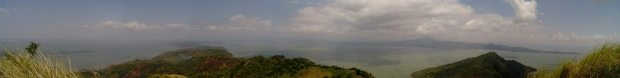 Panorama from Mt Tagapo, Binangonan Rizal