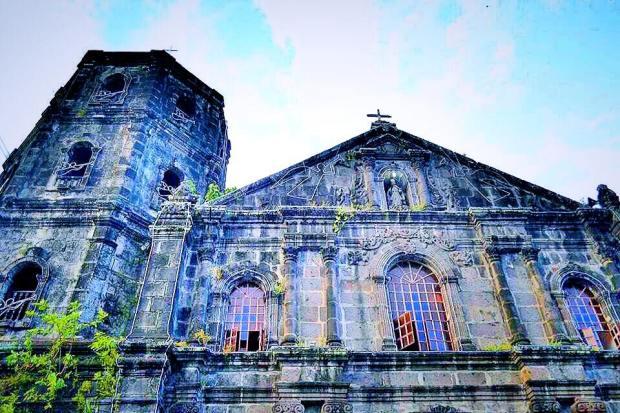 San Ildefonso Church in Tanay Rizal