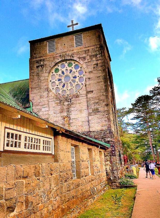 St Mary's Church in Sagada Mountain Province