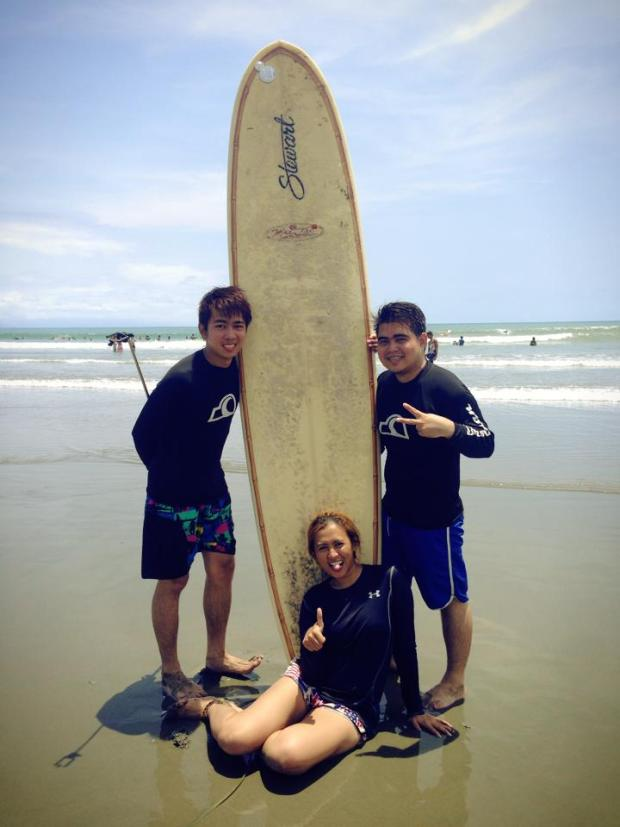 Surfing with great dudes from high school