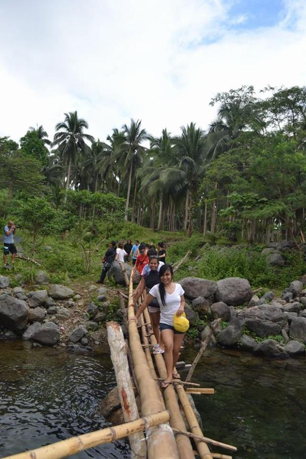 The Wooden Bridge, Imagine 300-500 passers everyday during the vacation season