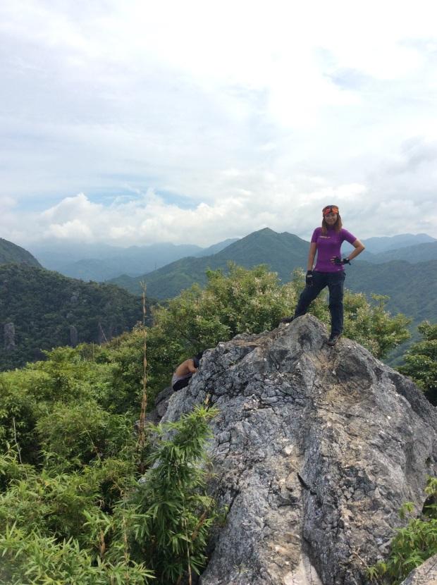 The Summit of Mt Binacayan