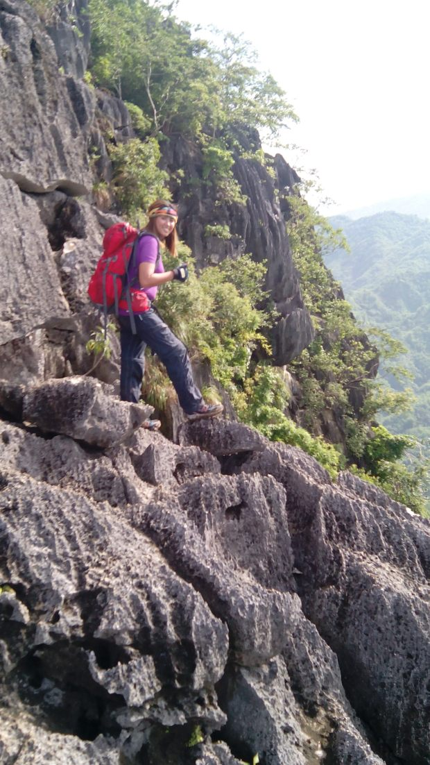 Unlimited Rock Formation in Mt Binacayan