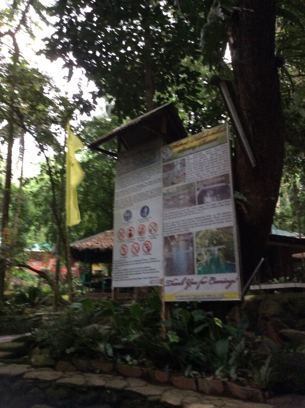 Ardent Hot Spring Rules and Regulations