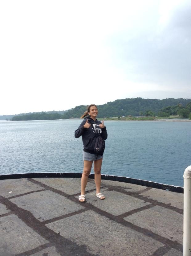 Arriving at Benoni Port