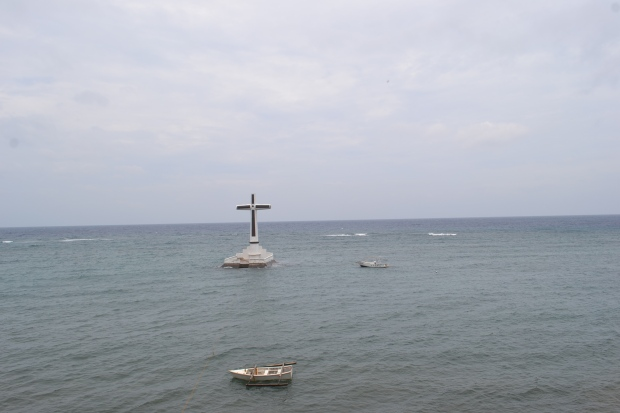 Bay view of the Sunken Cemetery