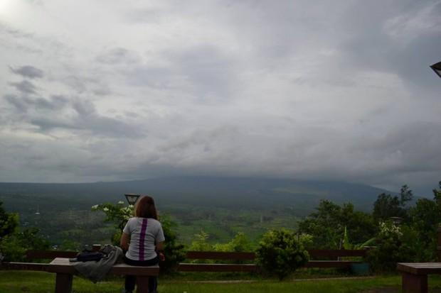 Lonely at Lignon Hill because I did not see Mt Mayon
