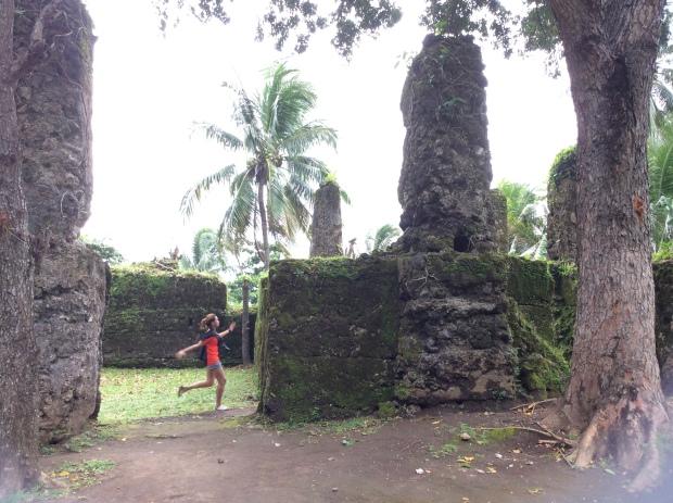 Maze Runner in Gui-ob Church Ruins