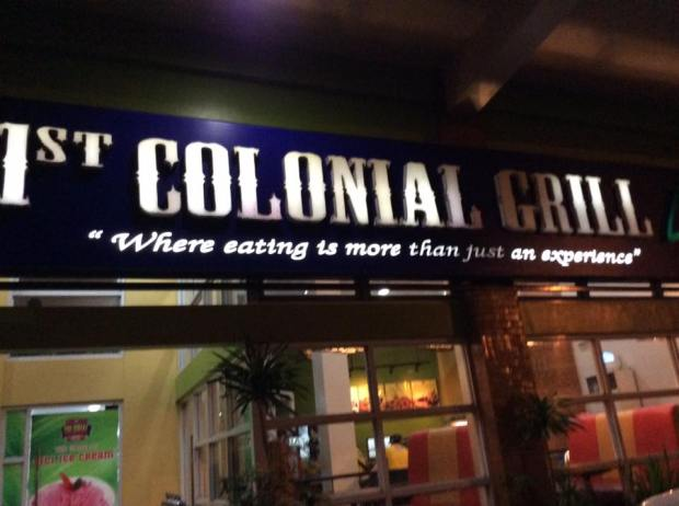 One of the famous fine dining restaurants in Albay