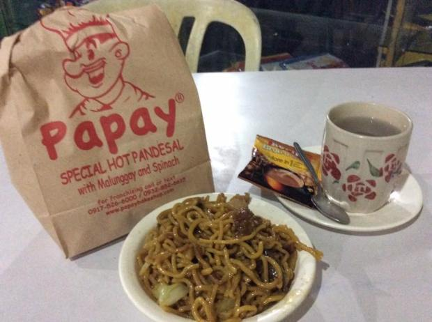 Pansit Bato, Malunggay Pandesal and 3 in 1 coffee