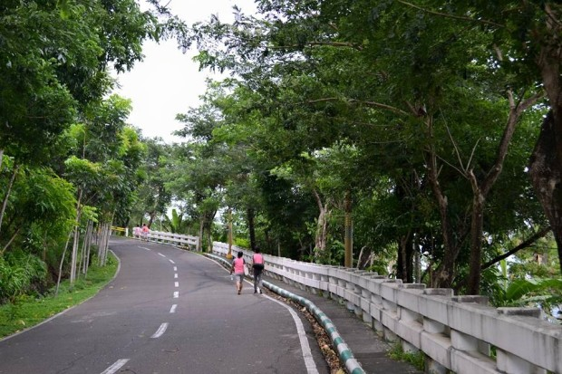Path to Lignon Hill
