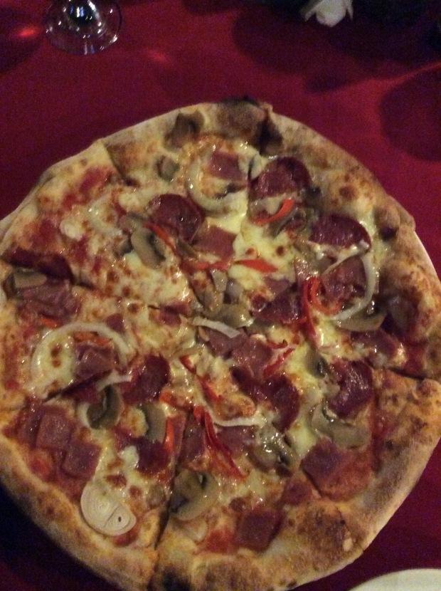 Pizza in Luna Ristorante