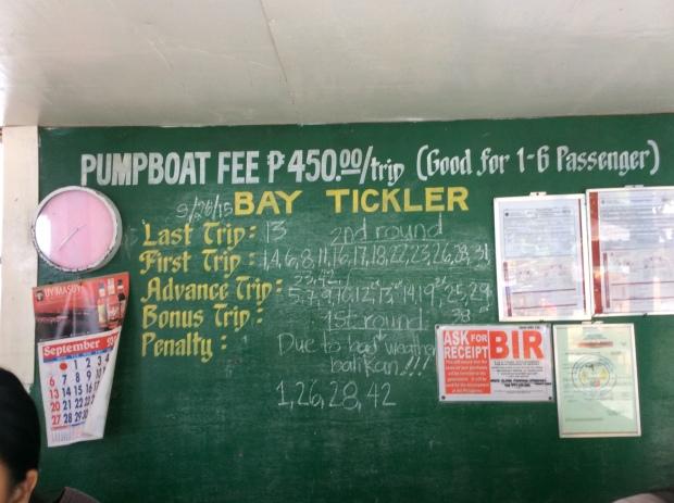 Renting a Pumpboat Cashier