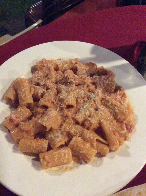 Seafood Tomato Pasta in Luna Ristoranti