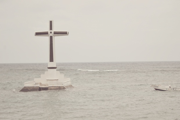 Sunken Cemetery Commemorative Cross