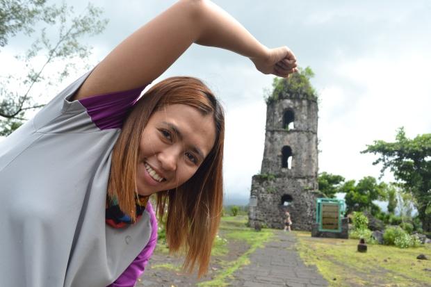 Trick Shot in Cagsawa Ruins