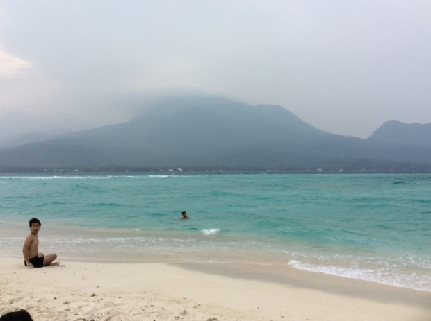 White Island and Mt Hibok Hibok