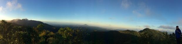Panorama of Manabu Peak